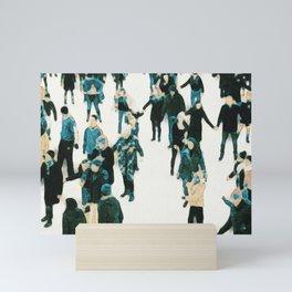 Central Park Skaters Mini Art Print