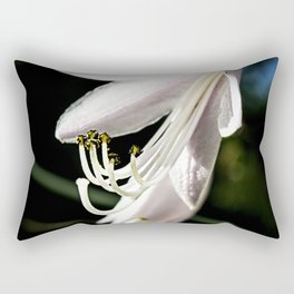 Bud with stamens. Rectangular Pillow