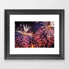 Fireworks - Philippines 13 Framed Art Print