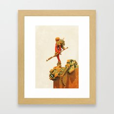 Sentinel Framed Art Print