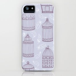 Birdcages iPhone Case
