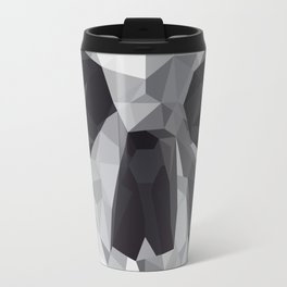 Geometric Skull Travel Mug