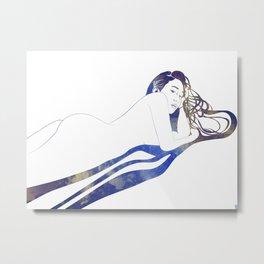 Water Nymph II Metal Print