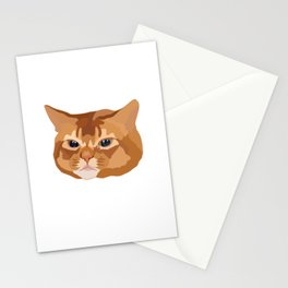 Orange Tabby Cat Stationery Cards