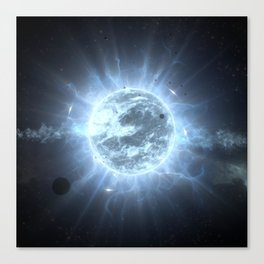Super Giant Star Canvas Print