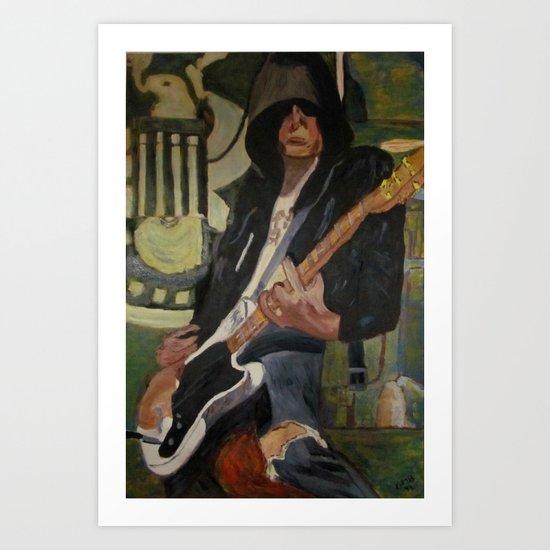 Johnny - ANALOG zine Art Print