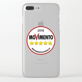 2018 Five Star Movement's Loo Clear iPhone Case