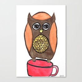 The Tea Theif Canvas Print