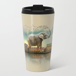 Travelling elephant Travel Mug