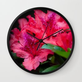 Savoring Every Moment Wall Clock