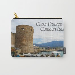 Middle Ages Salt Tower at Calvi France Carry-All Pouch