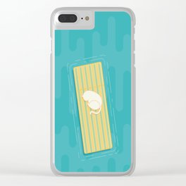 Taking a Nap Clear iPhone Case