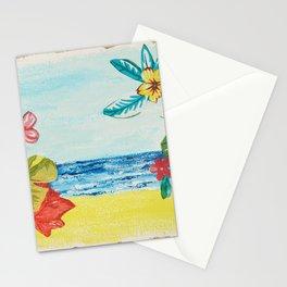 Brazilian beaches Stationery Cards