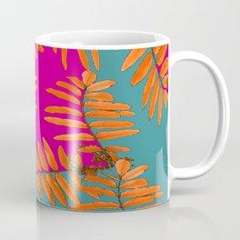 Leaves In Autumn Colors #decor #society6 #buyart Coffee Mug