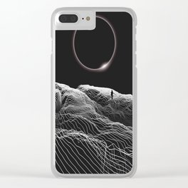 Don't forget me Clear iPhone Case