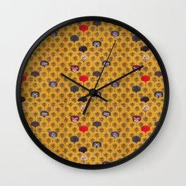 Rock Scales (Color) Wall Clock