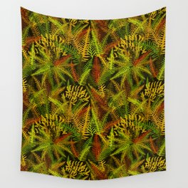Fern Forest in Rustica Wall Tapestry