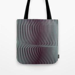 OpArt WaveLines 1 Tote Bag