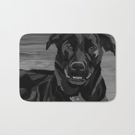 Vintage Lab Shepherd Dog Bath Mat