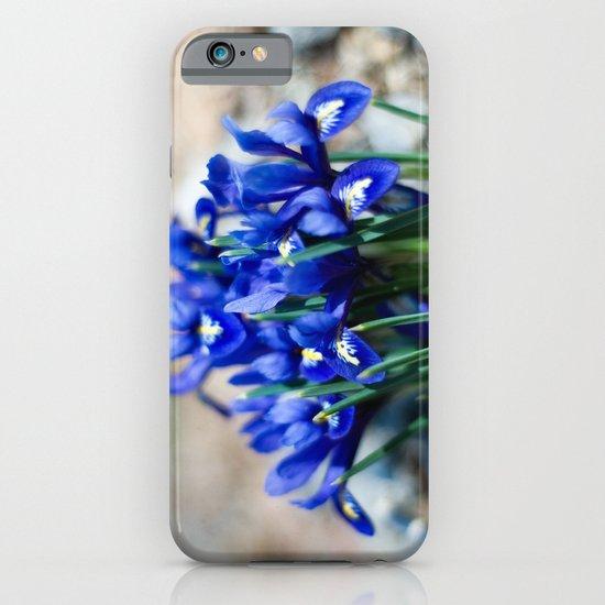 Iris Watercolor iPhone & iPod Case