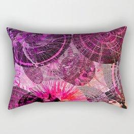 Spinning Around in Circles Rectangular Pillow