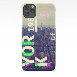 NEW YORK (GLITCH CITY #000) iPhone Case