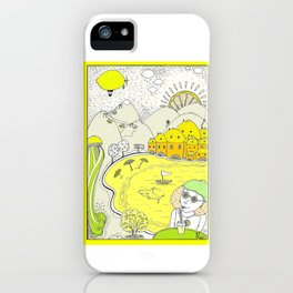 Lemon paradise iPhone Case
