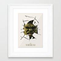 hulk Framed Art Prints featuring Hulk by s2lart
