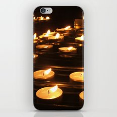Joan of Arc's Candles iPhone & iPod Skin