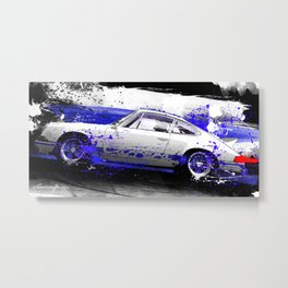 PORSCHE Carrera RS 1972 Metal Print