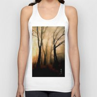 fog Tank Tops featuring Fog by Nev3r