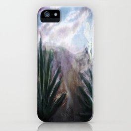 Desert Hills of Life and Death iPhone Case