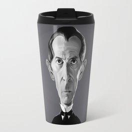 Peter Cushing Travel Mug