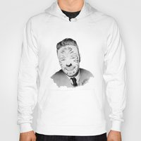 liam payne Hoodies featuring Liam Payne with painted face by Drawpassionn