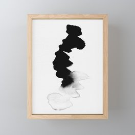 Drop 01 Framed Mini Art Print