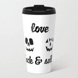 love jack and sally Travel Mug