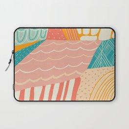 beach quilt Laptop Sleeve