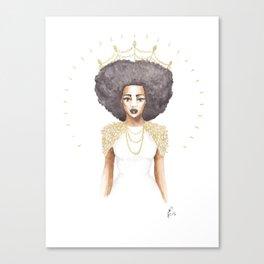 The Great Queen Violetta Canvas Print