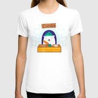 polar bear T-shirts featuring Polar Bear by Claire Lordon