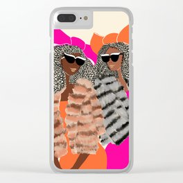 Lovely Friends for Lovely Birthdays Clear iPhone Case
