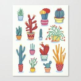Cactus Poster Canvas Print