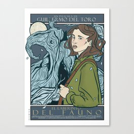 El Laberinto del Fauno (Pan's Labyrinth)  Canvas Print