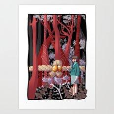 Tale of the Fiend - Shinsekai Yori Art Print