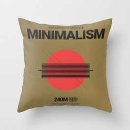 MINIMALISM #1 Throw Pillow