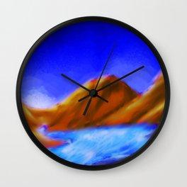 Lazy river Wall Clock