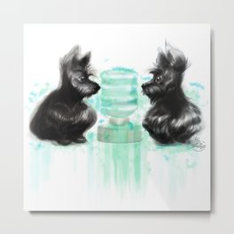 Watercooler I Metal Print