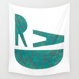 Rad - Green Wall Tapestry