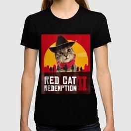 Red Cat Gamer T-shirt