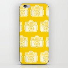 I Still Shoot Film Holga Logo - Reversed Yellow iPhone Skin