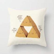 the try force. Throw Pillow
